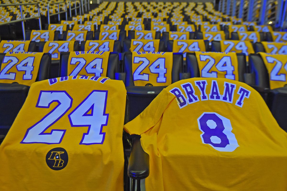 Lakers Debut New Court Logo, Jersey Patches To Memorialize