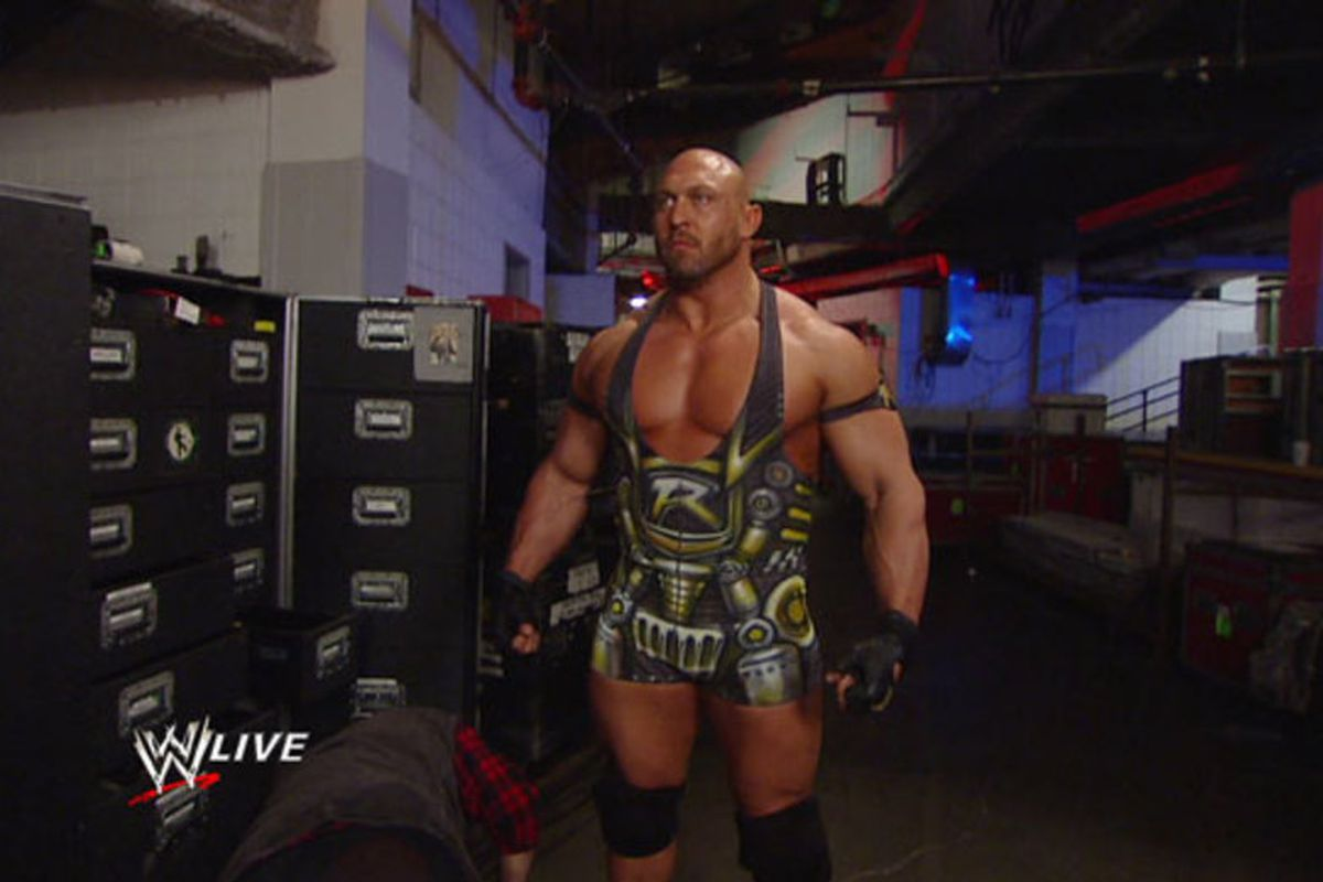 Ford Little Rock >> Ryback vs. Goldberg: Feed me more (of whatever Ryan Reeves