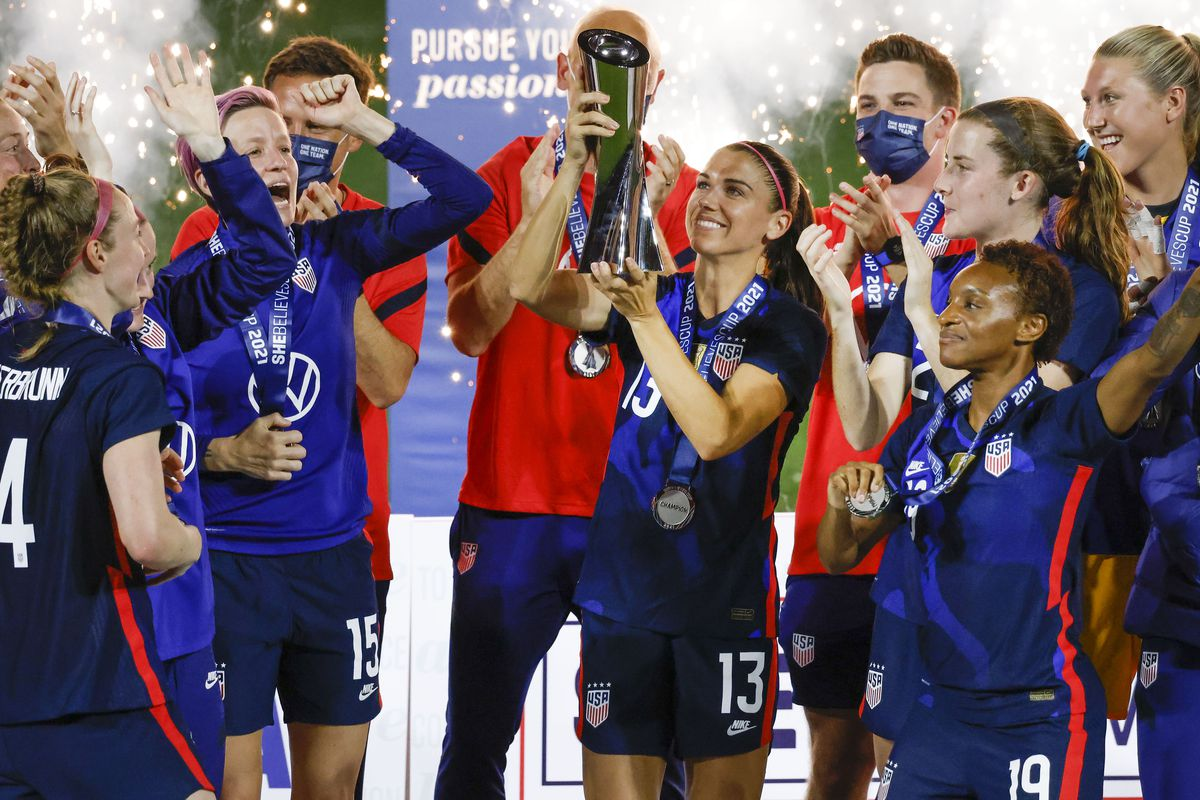 Soccer: SheBelieves Cup Women's Soccer-Argentina at USA