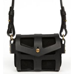 """<b>Fleet Ilya</b> Tiny Cage Bag in Black, <a href=""""http://www.openingceremony.us/products.asp?menuid=2&catid=24&designerid=263&productid=73016"""">$950</a> at Opening Ceremony"""