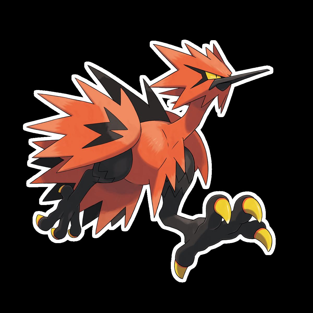 An orange bird running on two legs, like an ostrich