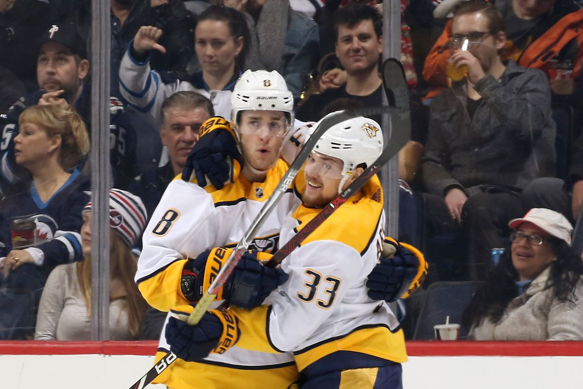Should The Nashville Predators Be Playing Kyle Turris At Wing On The Forecheck