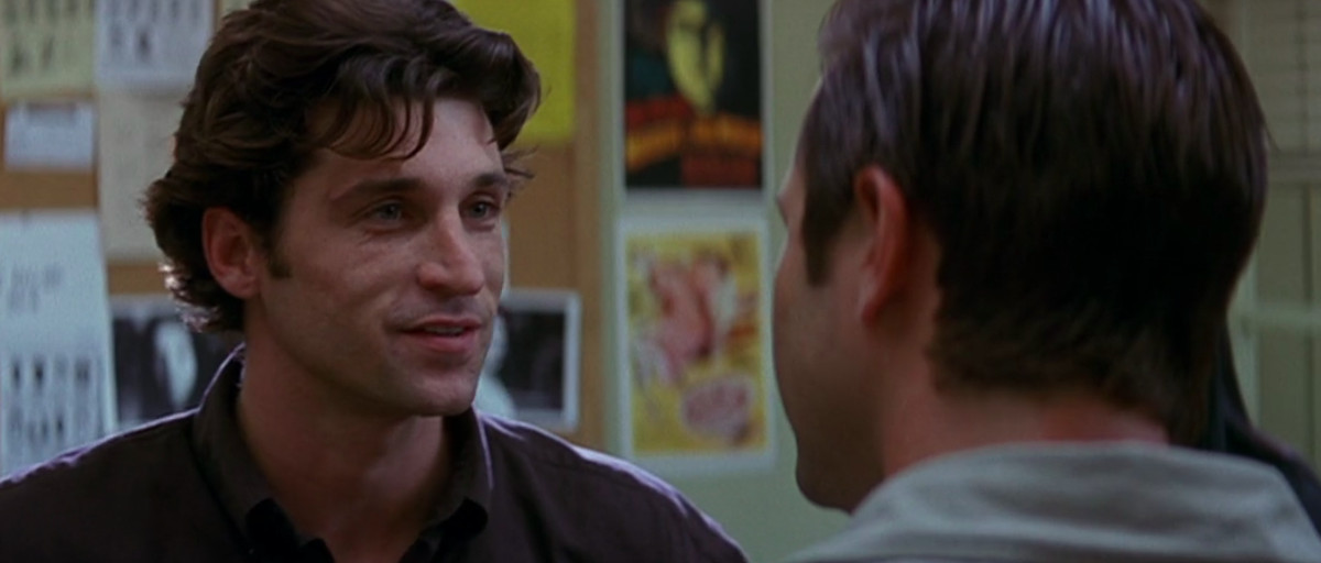 mark (patrick dempsey) gets in the face of another police officer