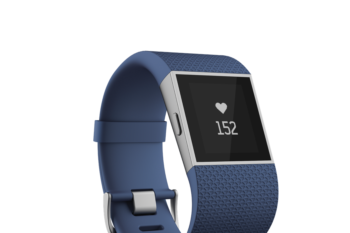 The new Fitbit Surge is a smartwatch with continuous heart-rate tracking and GPS. The company expects it will ship in early 2015 for $250.