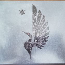 The back of the box with a beautiful Loon Wing on it made up of pictures of the MNUFC fans.