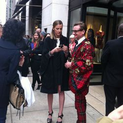 Amanda Brooks chats with Vogue's Hamish Bowles