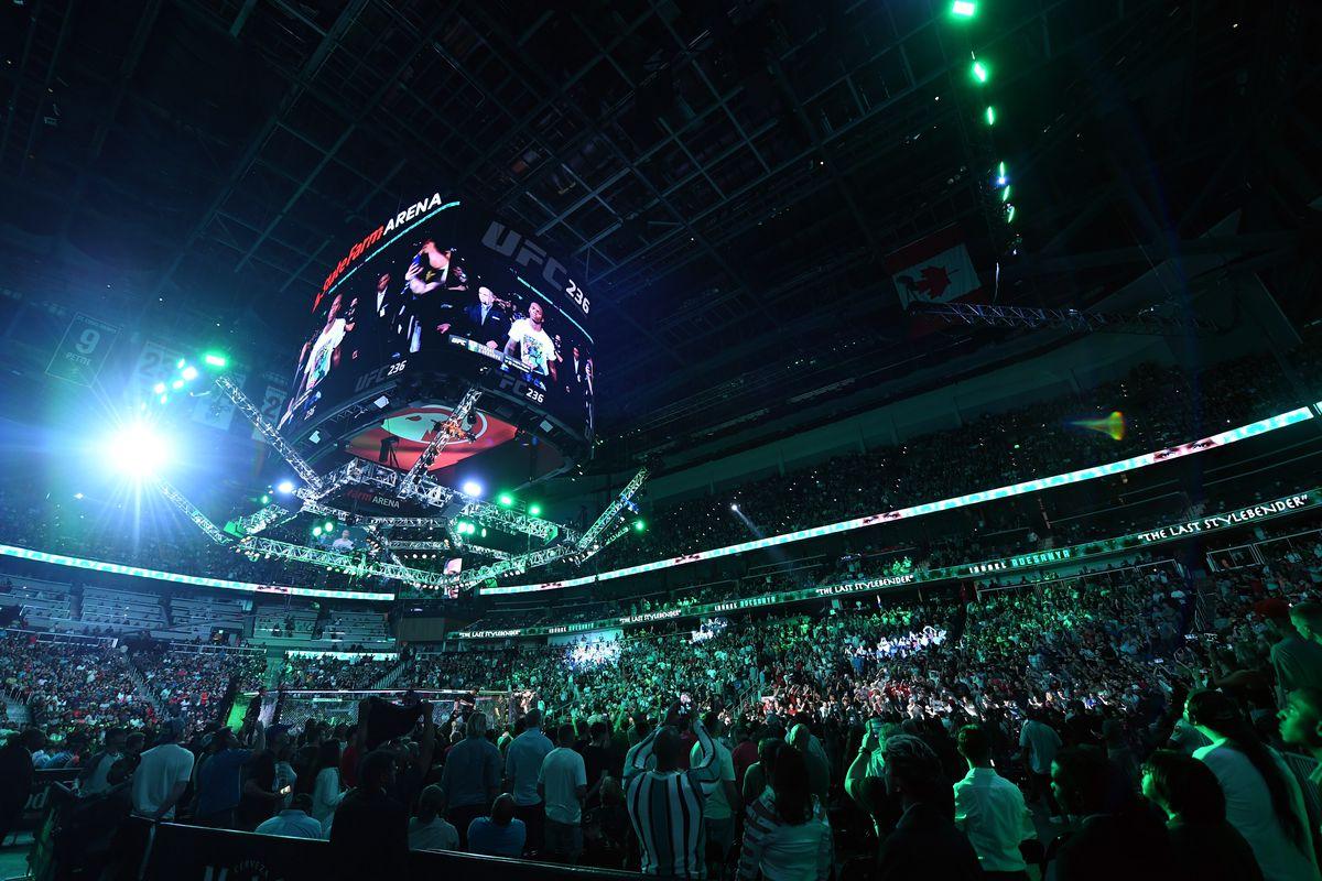 UFC 236: Gastelum v Adesanya