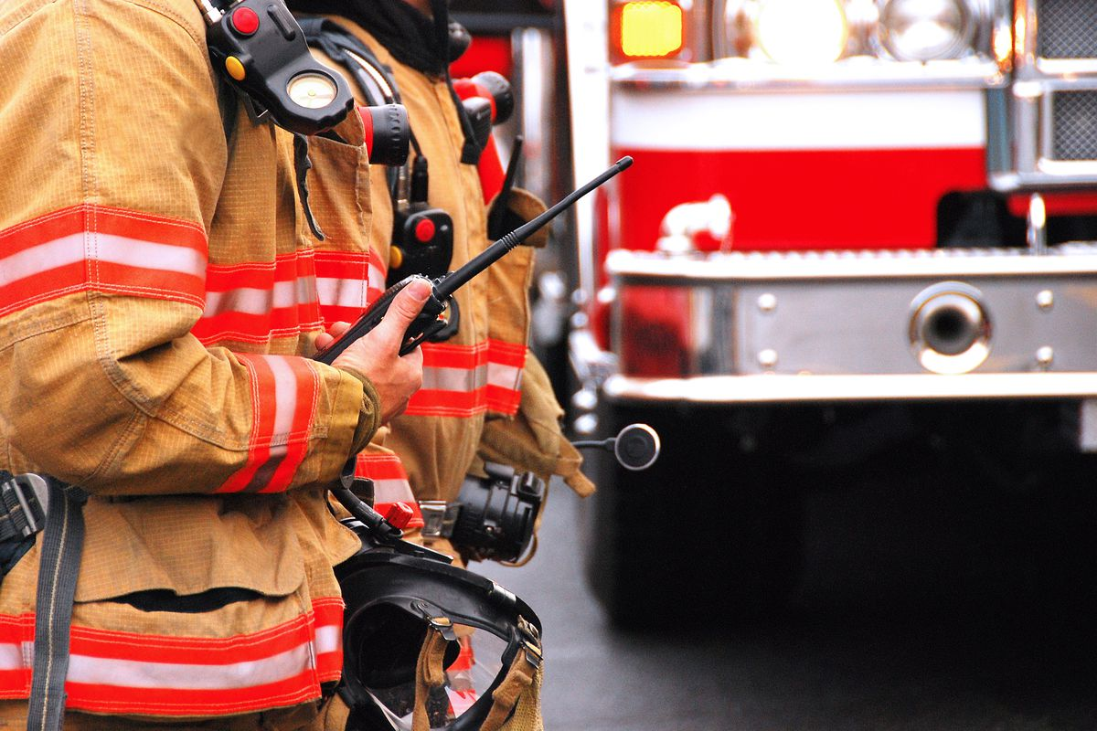 One person was killed and another critically injured in a mobile home fire in northern Utah Tuesday morning.