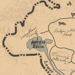 Legendary Rock Bass maps and location