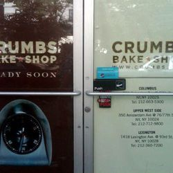 "Crumbs Bake Shop via <a href=""http://myupperwest.com/upper-west-side-blog/upper-west-side-openings-closings-crumbs-bakery-earthen-oven-tumi/"" rel=""nofollow"">MUW</a>"