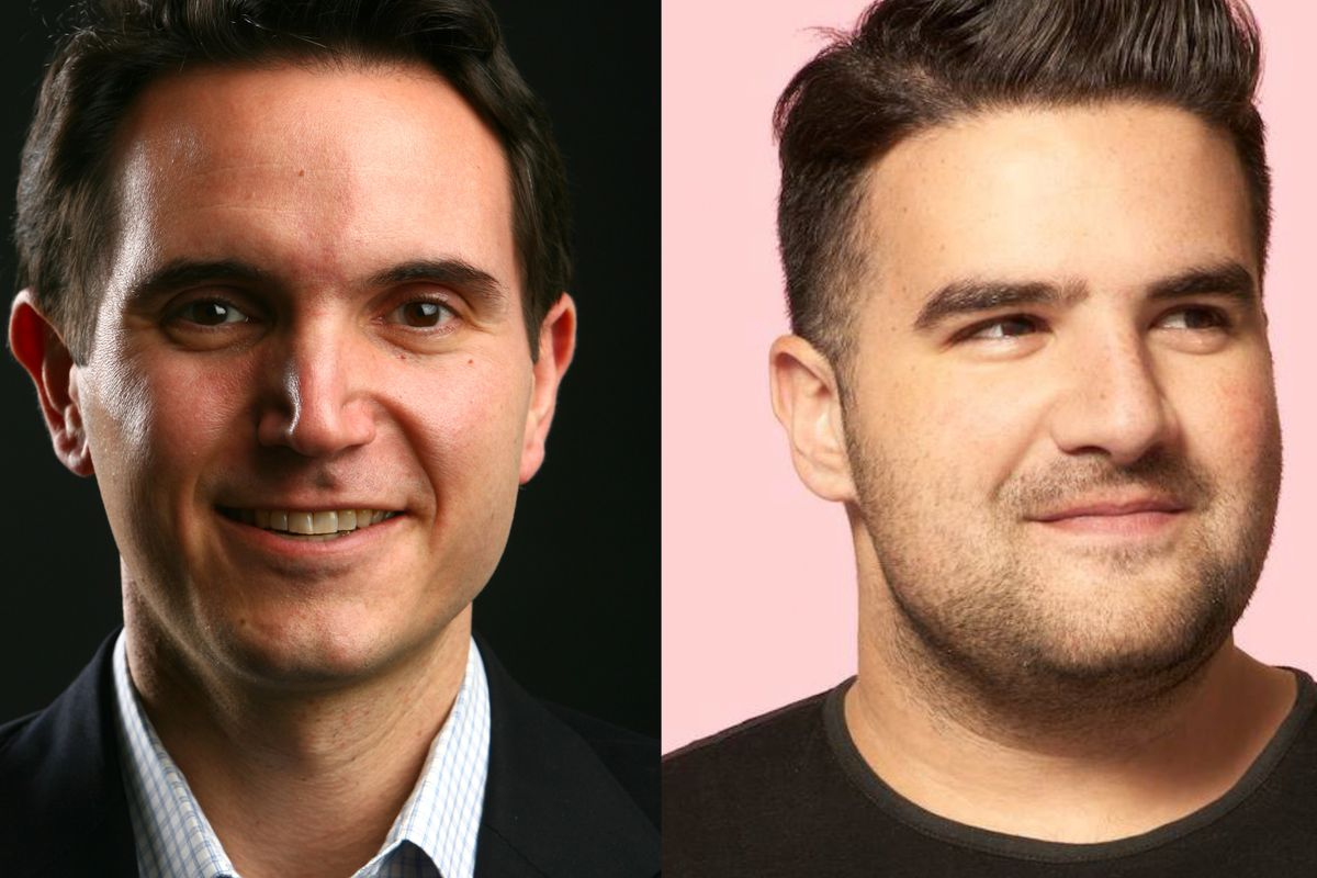 David Perpich of The Wirecutter and Ben Kaufman of BuzzFeed