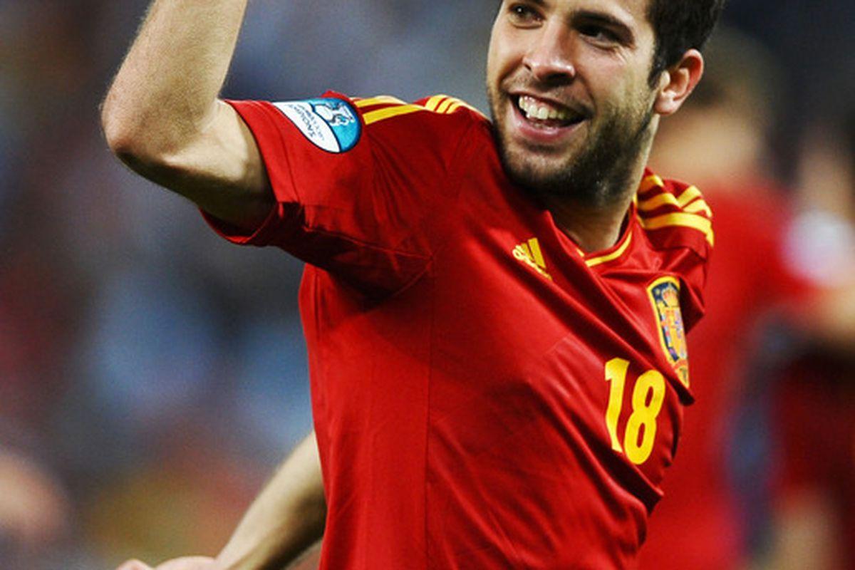 Even Jordi joined the goalscoring parade.