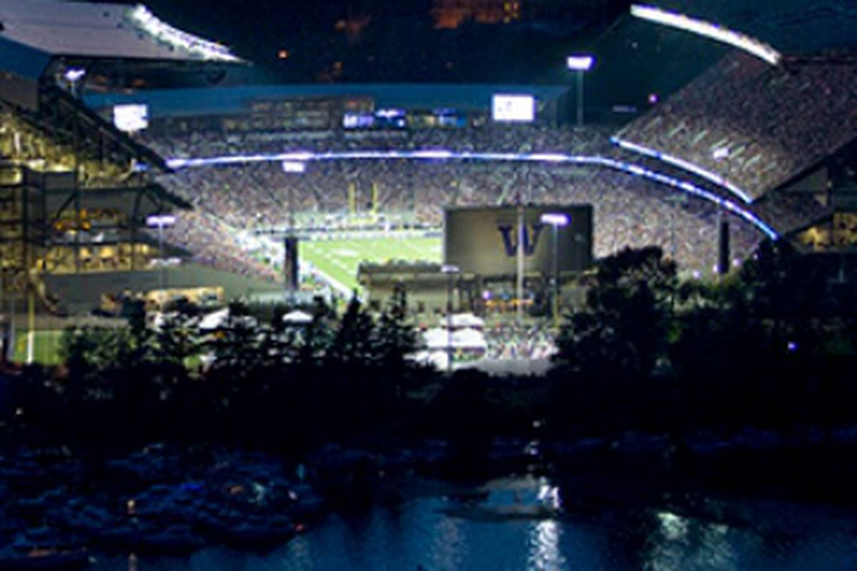 Oregon St. makes their first visit to remodeled Husky Stadium tonight.