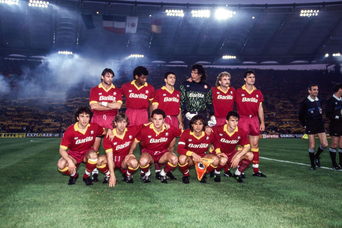 AS Roma v Inter - UEFA Cup Final, second leg 1991