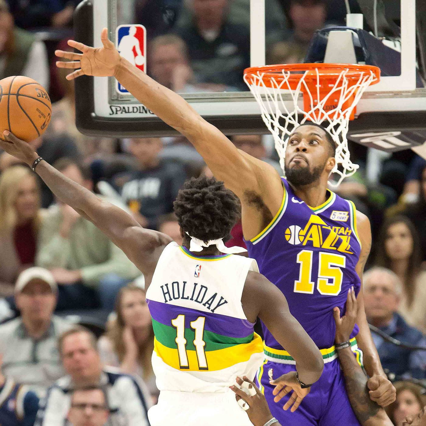 Derrick Favors Is Better Than You Think And New Orleans Pelicans Present Fantastic Opportunity For Him To Shine Again The Bird Writes