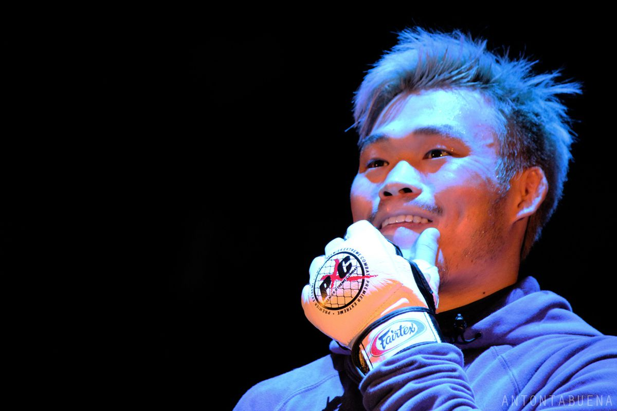 Jang Yong Kim had more than a few resons to smile following his showing on PXC 39