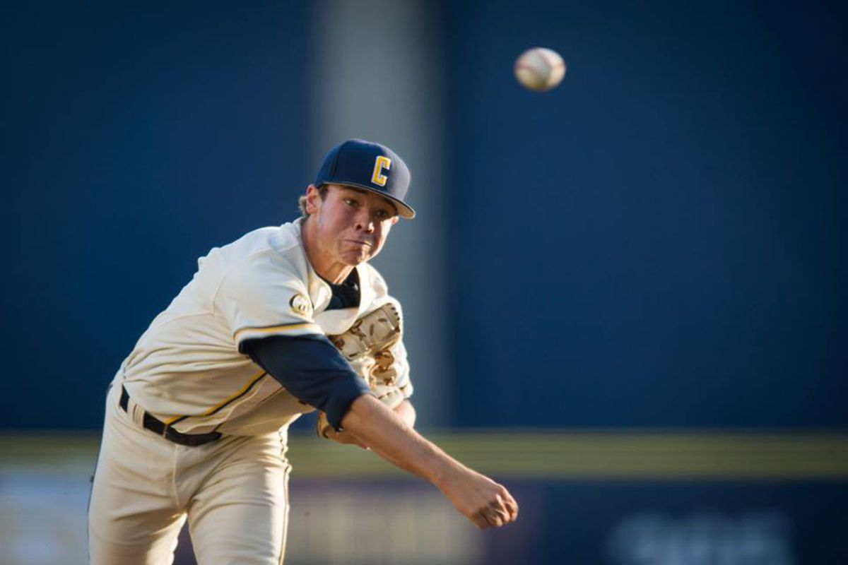Daulton Jefferies takes the mound for the Golden Bears in tonight's series opener against No.3 Oregon State.