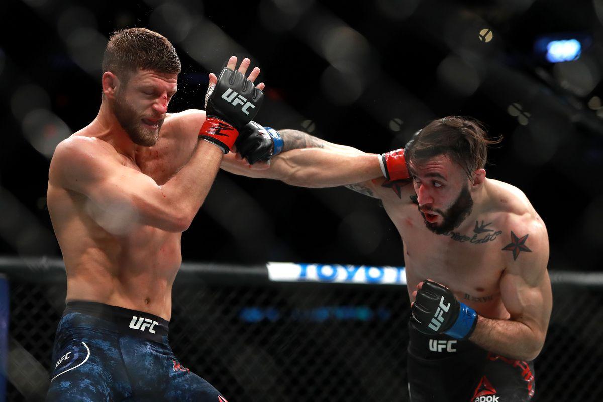 UFC 220: Kattar v Burgos