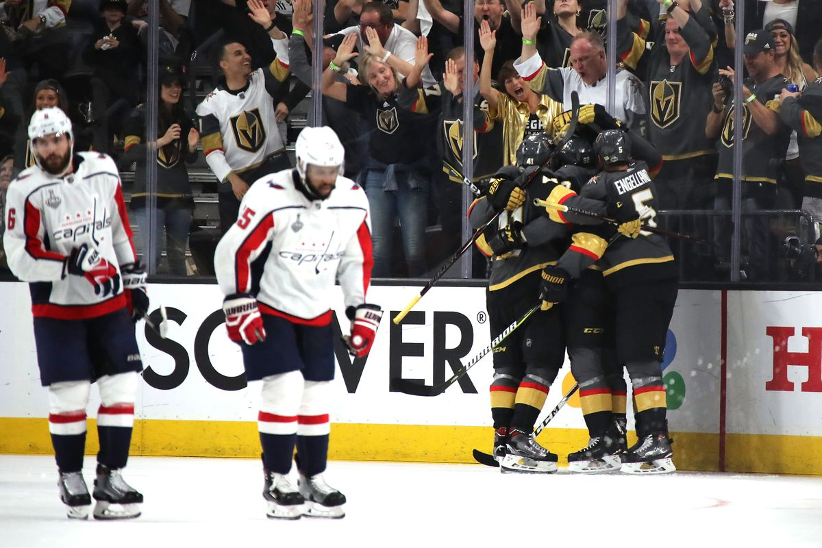 afb754b1671 Stanley Cup results  Golden Knights beat Capitals in Game 1 ...