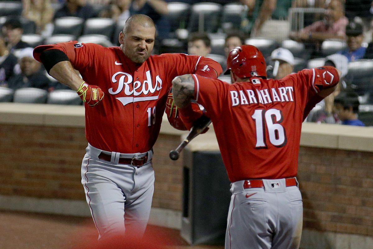 MLB: Cincinnati Reds at New York Mets