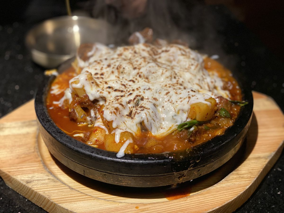 Braised short rib stew at Daeho