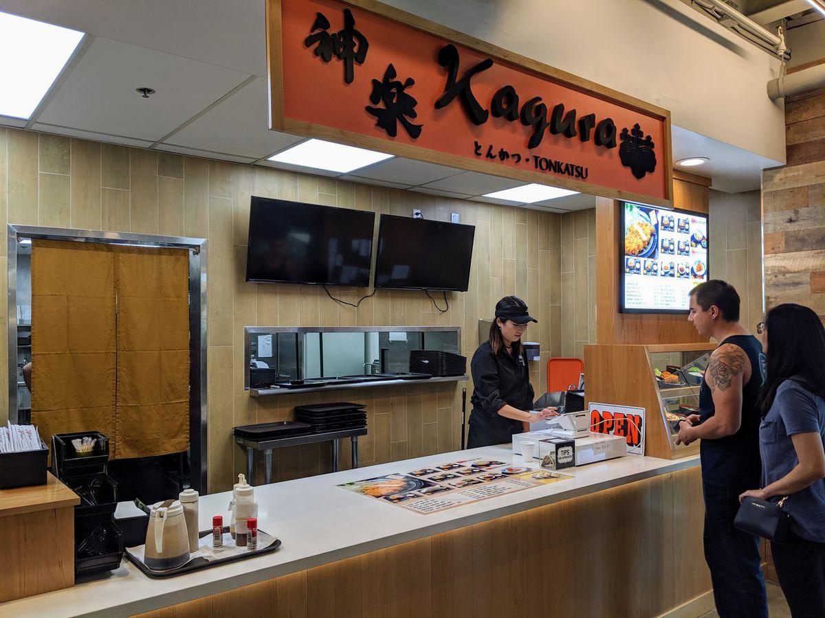 Kagura stall at Gardena's Tokyo Central Market.