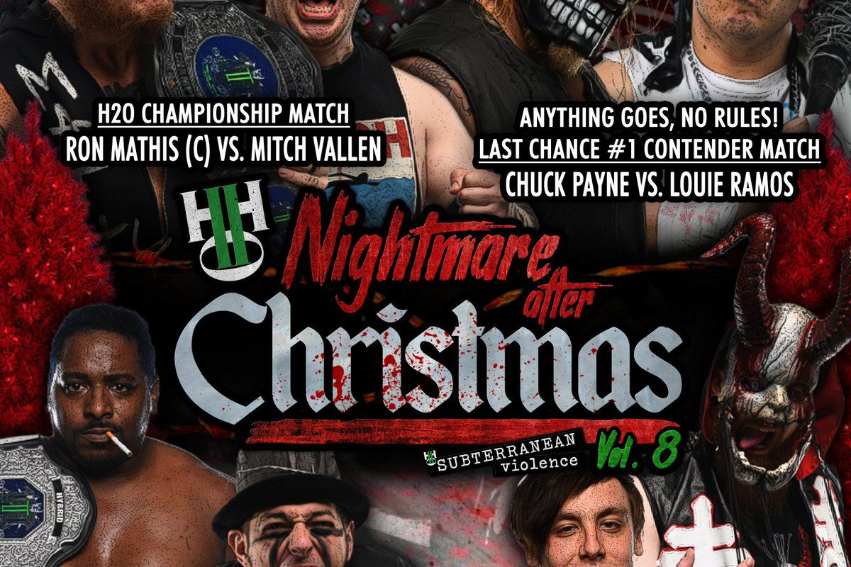Poster for H2O Nightmare After Christmas`