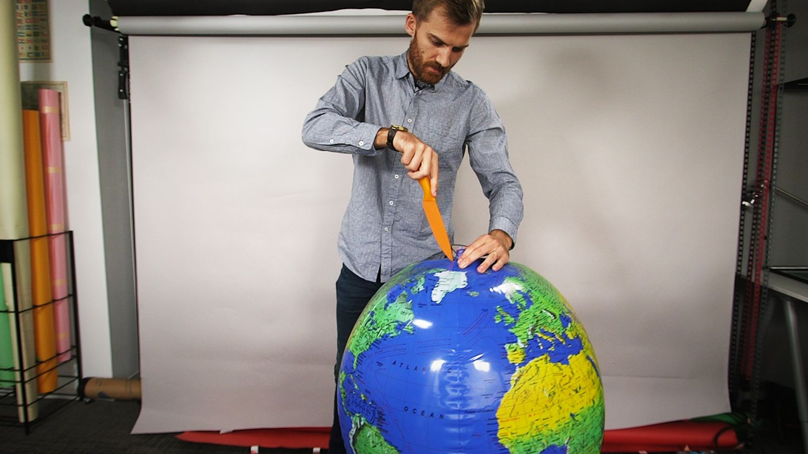 All maps are wrong i cut open a globe to show why vox gumiabroncs Images
