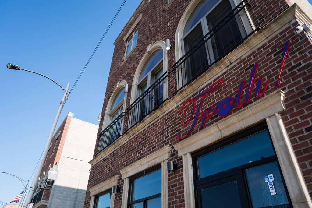 Truth Italian Restaurant on East Pershing Road in Bronzeville.   Max Herman/For the Sun-Times