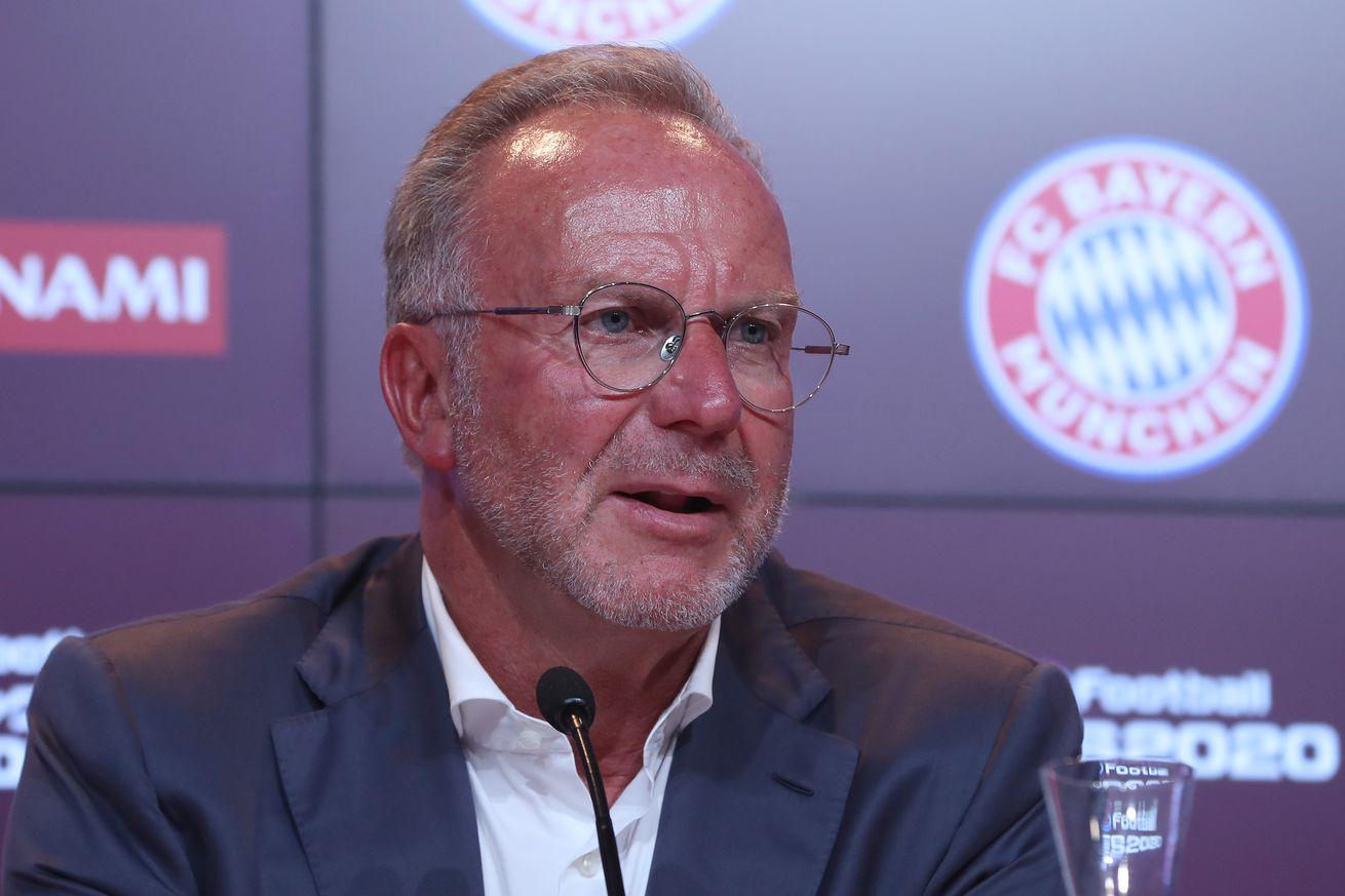 Rummenigge: Hasan Salihamidzic has stayed in Munich to work on transfers