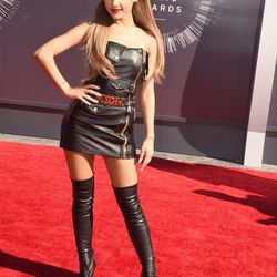 Ariana Grande in Moschino by Jeremy Scott. Clearly.
