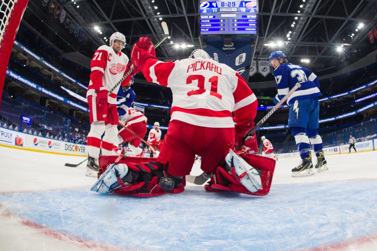 Detroit Red Wings v Tampa Bay Lightning