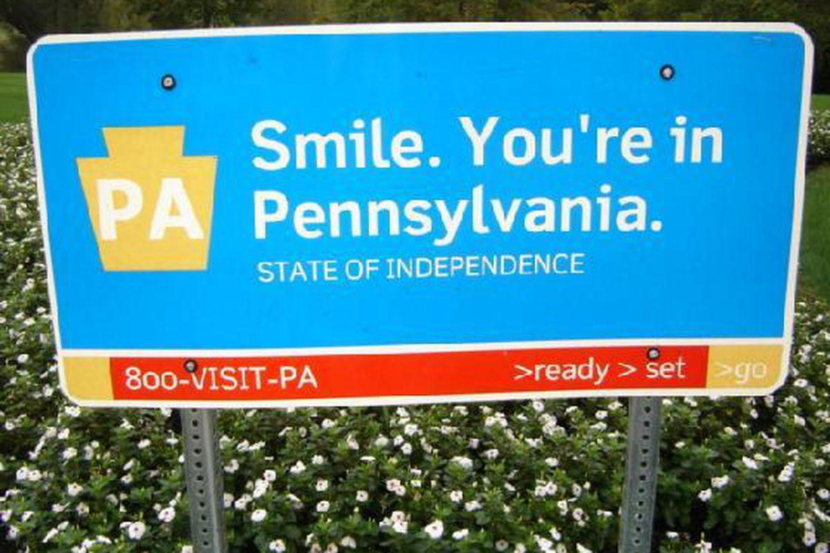 "via <a href=""http://api.ning.com/files/l*9xrwMSbXqX8*g*vYKedlorztSCyn0B6JC1PVH0YdaV3fTAePPAWwoGO1UAG0JmcIaLNhEBjn3Iw6Kma7mzqD6tkEingIC0/Welcome_to_Pennsylvania_SignPennsylvania.jpg"">api.ning.com</a>"