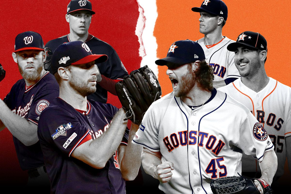 Nats Astros The Best Collection Of World Series Pitching Talent Ever The Ringer