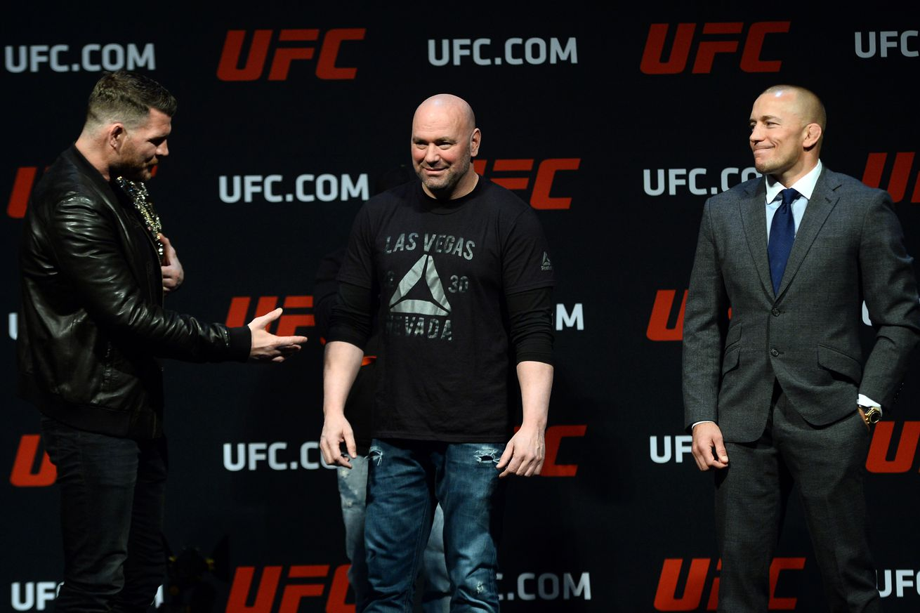 Luke Rockhold not convinced Georges St Pierre fights Michael Bisping at UFC 217: 'His mind and body could fail him'
