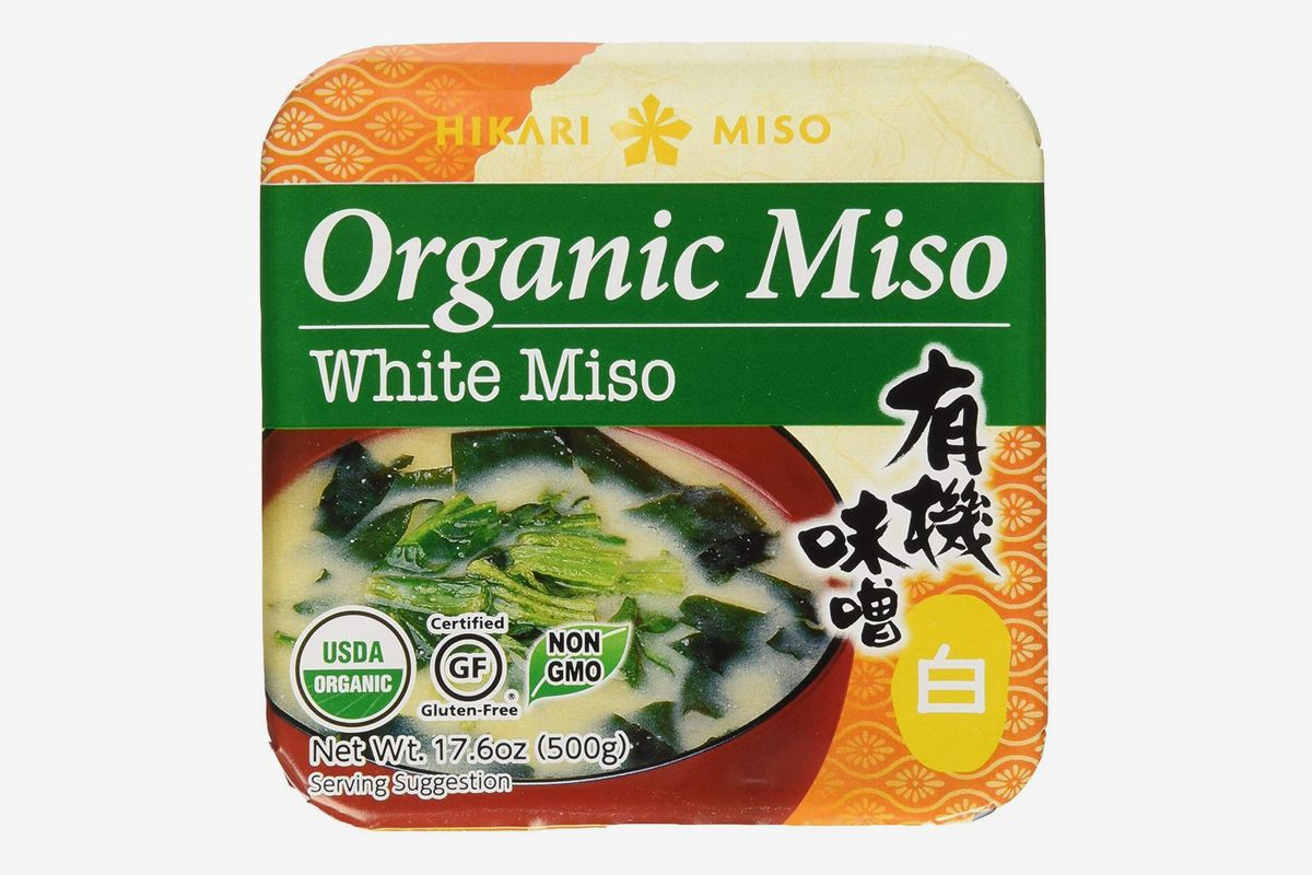 A package of Hikari Organic Miso Paste, White
