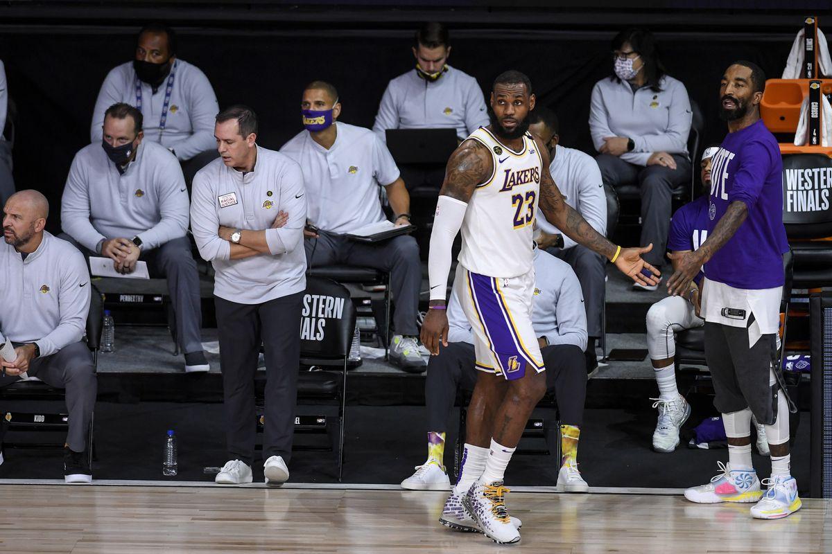 "NBA PLAYOFFS ""u2013DENVER NUGGETS VS LOS ANGELES LAKERS"