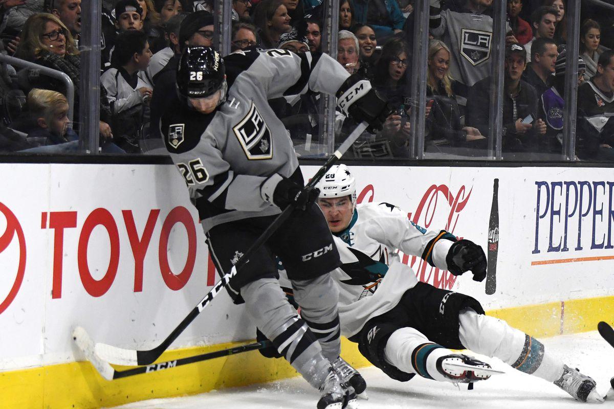 NHL: San Jose Sharks at Los Angeles Kings