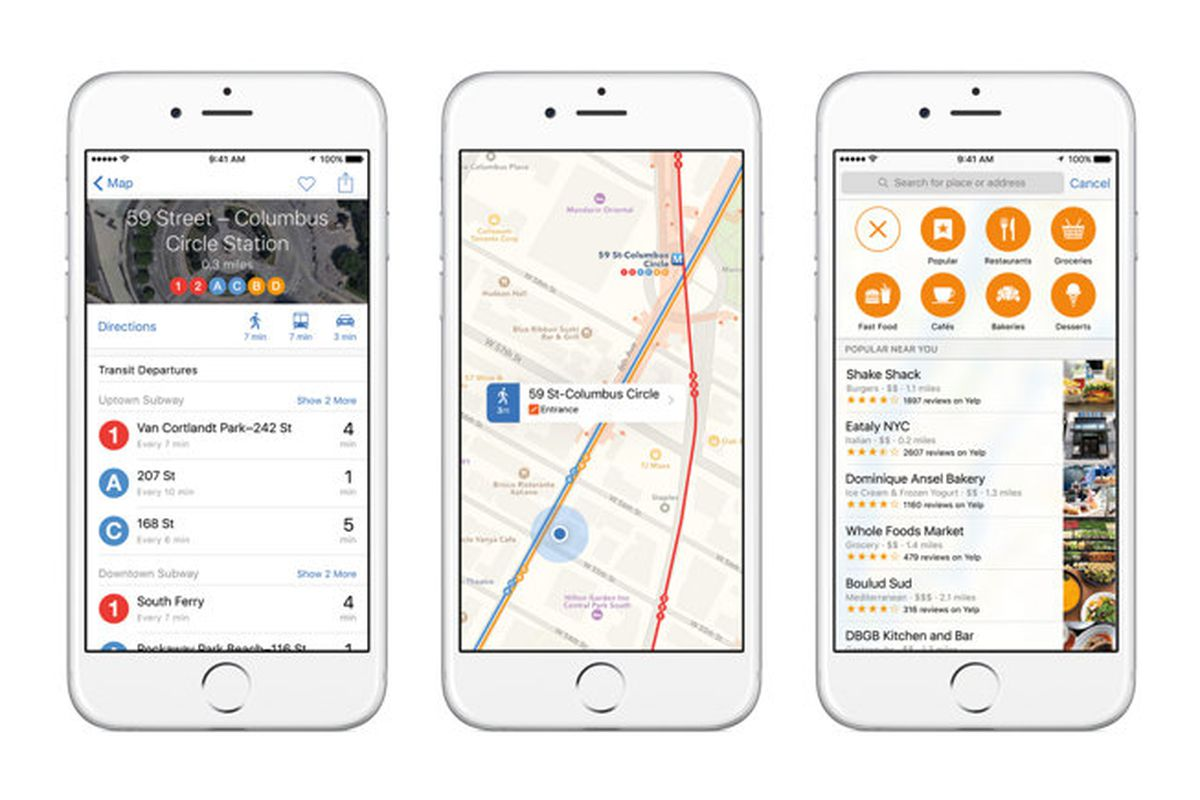 Apple expands Maps public transit directions to Boston and Sydney ...