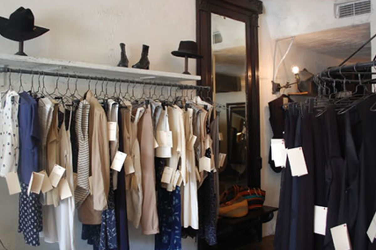 """The Reformation on West 3rd. Photo via <a href=""""http://thereformation.com/stores/index-la.html"""">The Reformation</a>."""