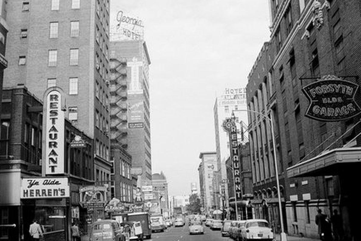 Luckie Street, 1963.