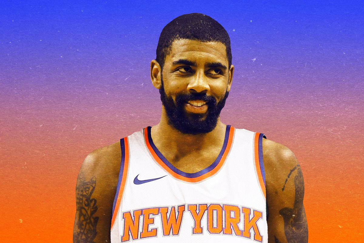buy popular 08370 165fd The New York Knicks Are Thinking Ahead, and About Kyrie ...