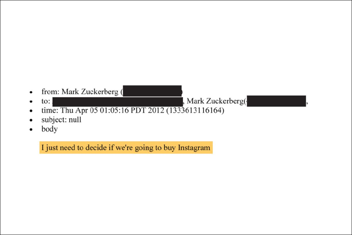 From Mark Zuckerberg to the Editor, Thursday, April 5, 1:05 p.m., 2012.