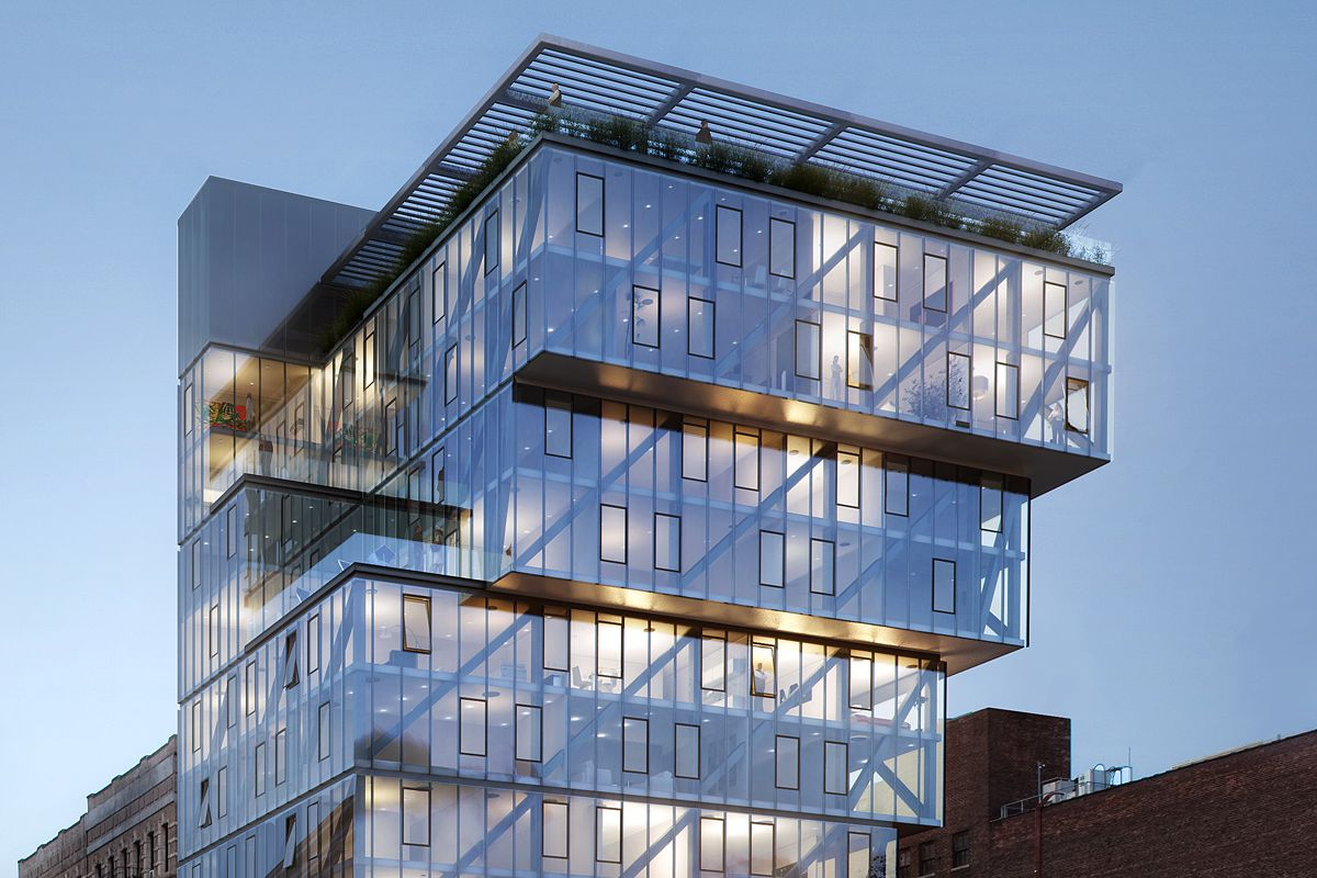 Touring Lower East Side S Oda Designed Cantilevered Condo
