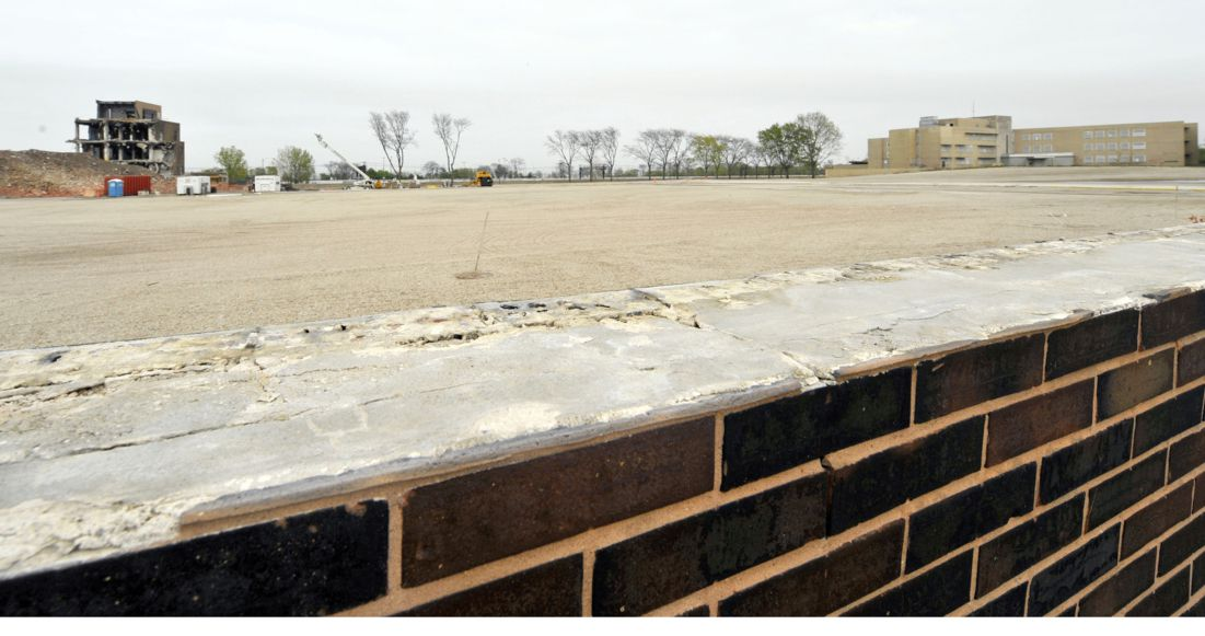 Redeveloping the site of the former Michael Reese Hospital has proved to be a challenge for the city.