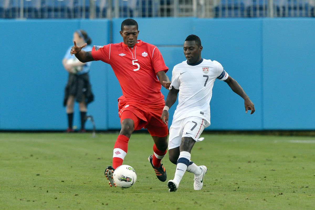 Henry will be back at it for Canada this time at the U20 level