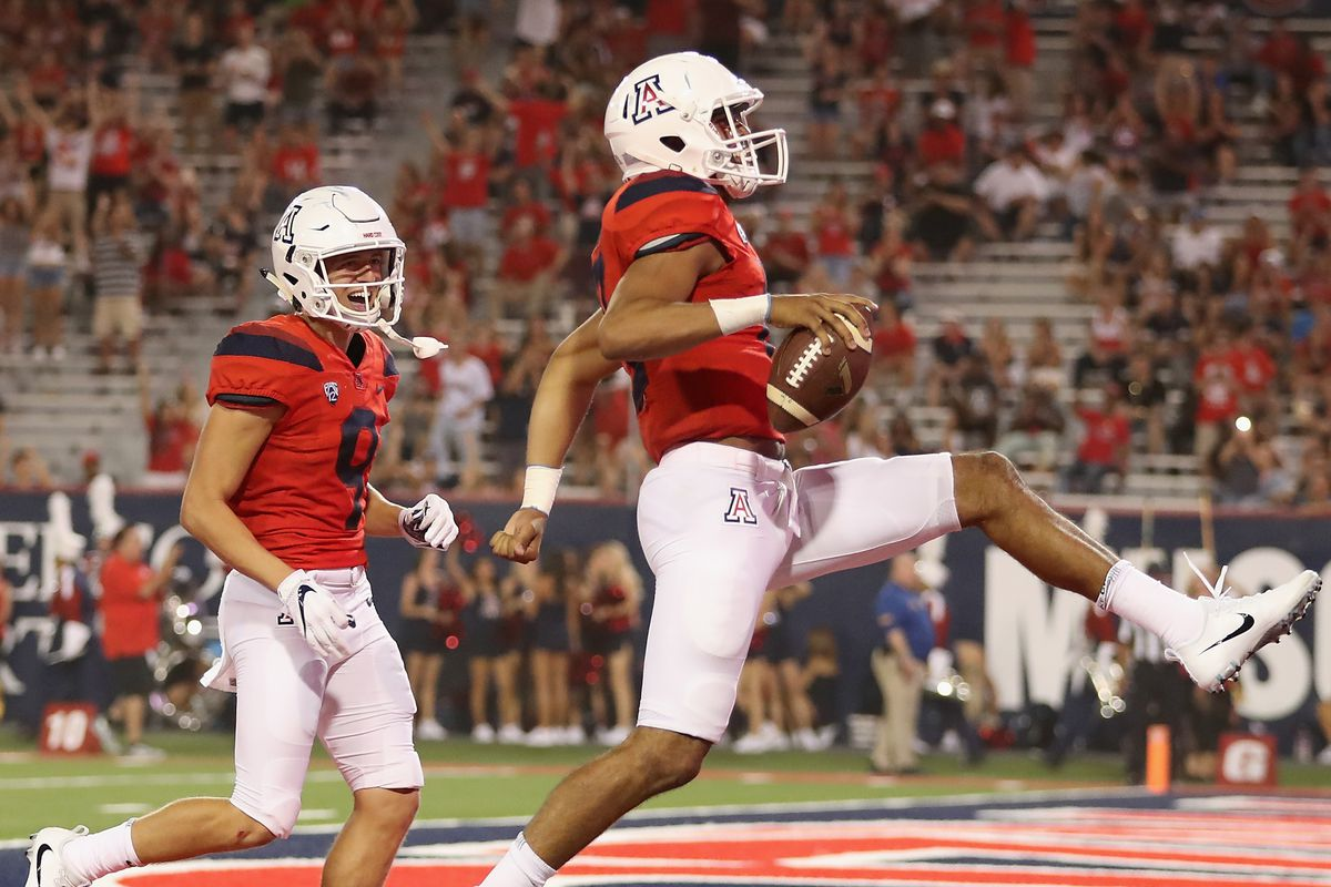 Uofa Football Score >> Arizona Vs Nau Final Score Wildcats Run For 506 Yards In