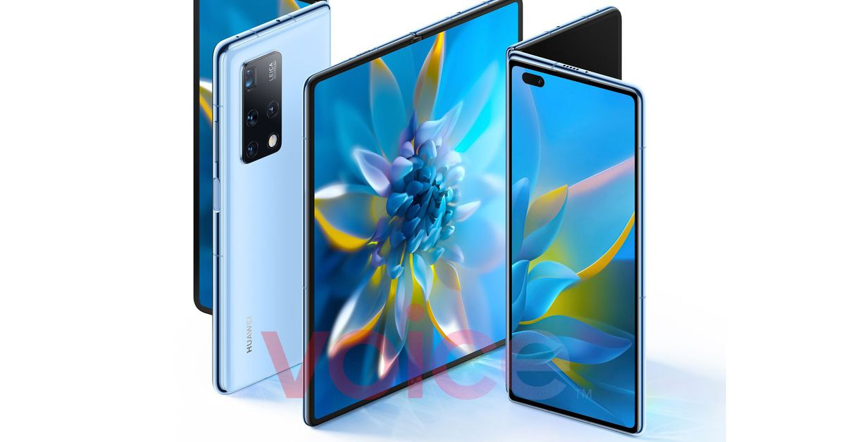 Huawei's foldable Mate X2 leaks just before launch – The Verge