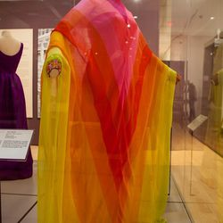 """This 1967 Christian Dior """"Bayadère"""" gown was one of the Princess' favorites. [Image credit: Natalie Wi]"""