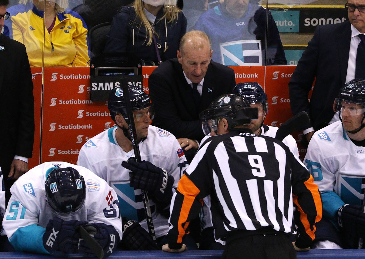 Ralph Krueger coached Team Europe at the 2016 World Cup of Hockey